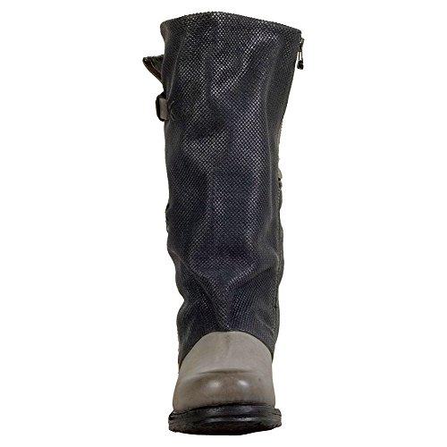 As98 Selig Womens Boot A Metà Polpaccio Grigio