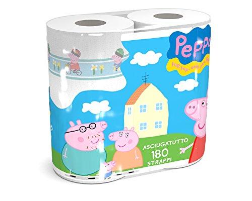 Clean Paper. Rollo de papel de cocina con motivo de Peppa ...