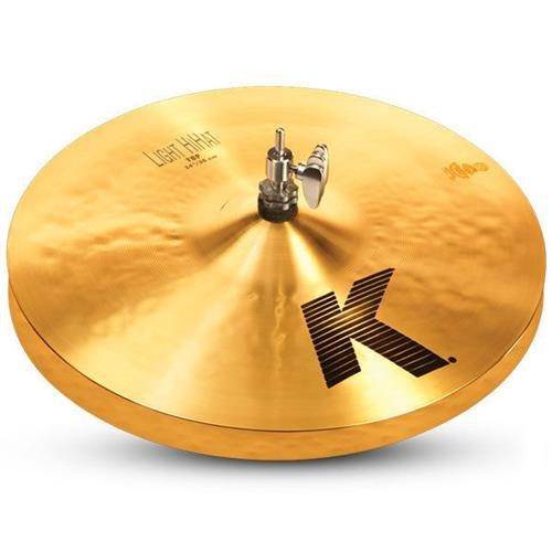 Zildjian K Light Hi-Hat Top Cymbal 14 in. Jazz Thin Hi Hat