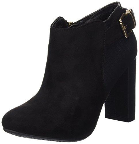 Tacón 30295 Combinada Zapatos Negro Mujer De Sra Negro Antelina Botin Xti fqwHUI0I