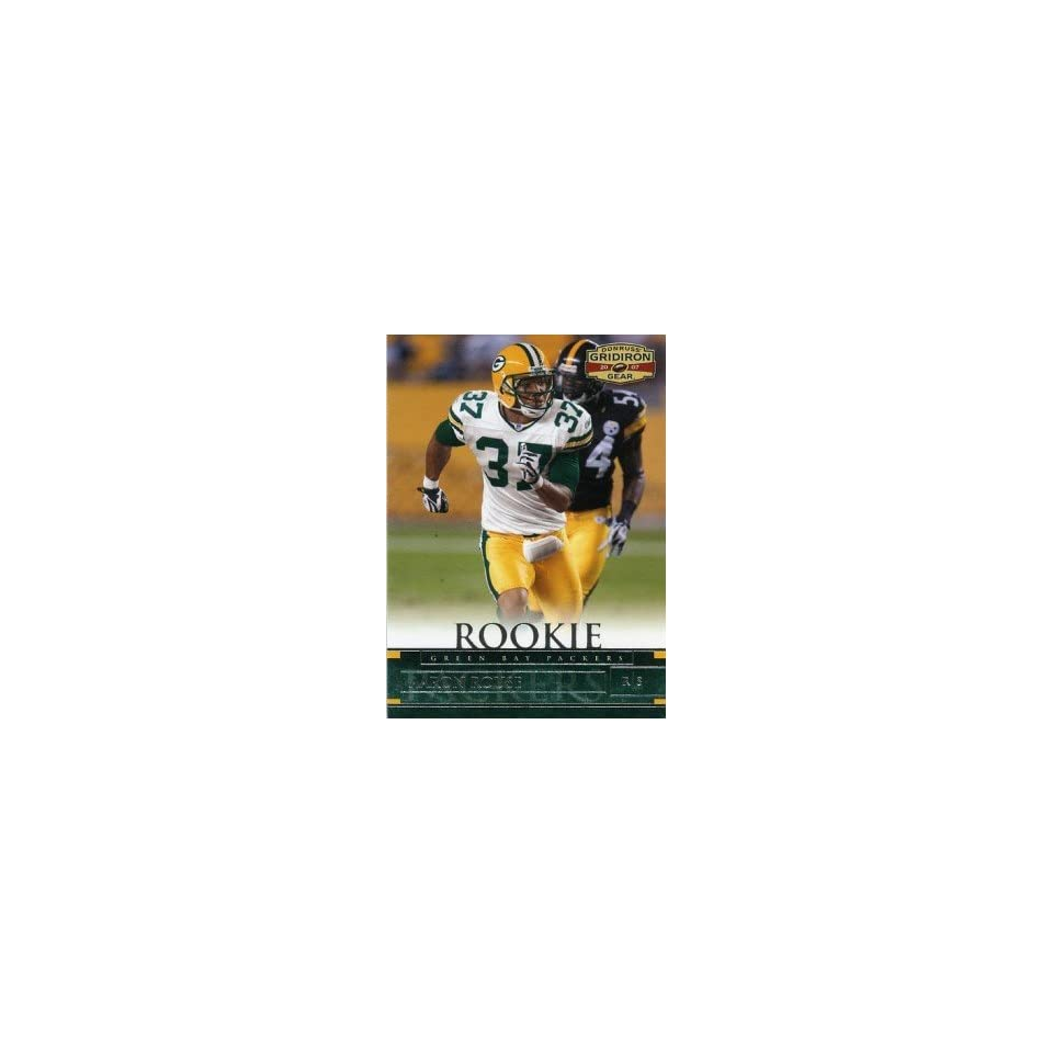 Aaron Rouse Green Bay Packers 2007 Donruss Gridiron Gear