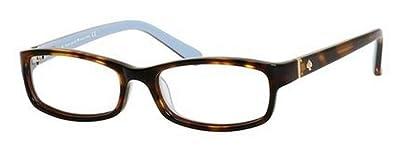 fcb1b469f0 Amazon.com  Kate Spade Narcisa Eyeglasses-0W71 Havana Blue -49mm  Shoes