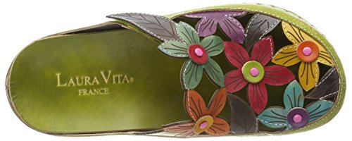 Laura Vita Ladies Billy 52 Zoccoli Verde (vert)