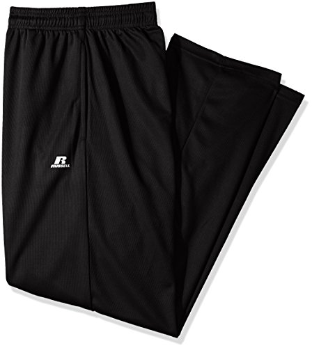 - Russell Athletic Men's Big and Tall Dri-Power Pant, Black, 2X