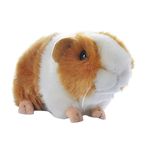 MaitianGuyou Kids' Brown Guineapig Guinea Pig Plush Toy Soft Cute Plush Toy Gift 7 Inch,Yellow and White Color