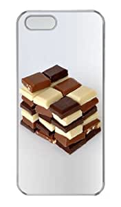 Chocolate PC Transparent Case for iphone 5/5S
