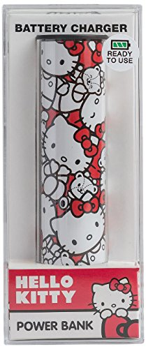 Tribe Hello Kitty Fun USB Portable Universal Power Bank External Battery Charger for Smartphone (Hello Kitty Car Charger)