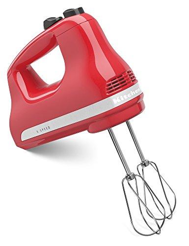 KitchenAid KHM512WM 5-Speed Ultra Power Hand Mixer, Watermelon