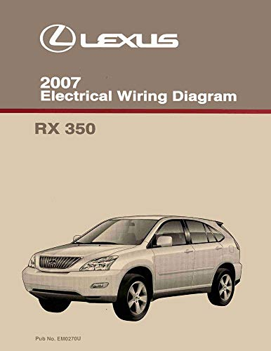 - bishko automotive literature 2007 Lexus RX 350 Wiring Diagrams Schematics Layout Factory OEM