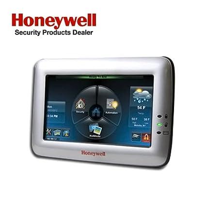 Honeywell Ademco TUXWIFIS Tuxedo Touch Controller w/ Wi-Fi, Silver (6280i)