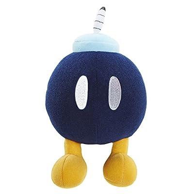World of Nintendo Nintendo Bob-Omb Plush with Sounds: Toys & Games