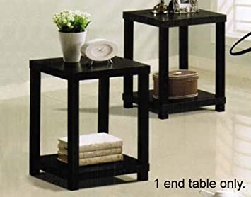 ACME Wei End Table, Espresso Finish
