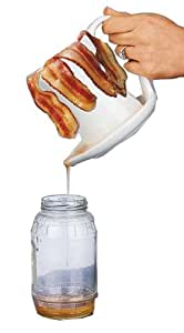 Ceramic bacon cooker cup microwave kitchen for Decor bacon cooker