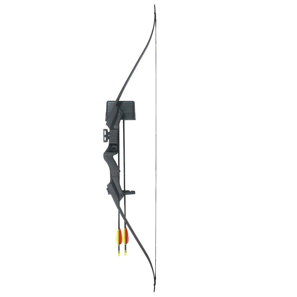 Amazon com : iGlow 20 lb Black Archery Hunting Recurve Bow +