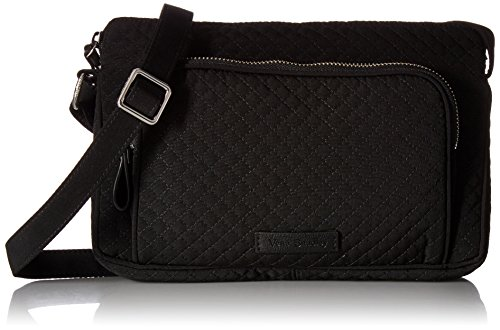 Vera Bradley Iconic RFID Little Hipster, Classic Black