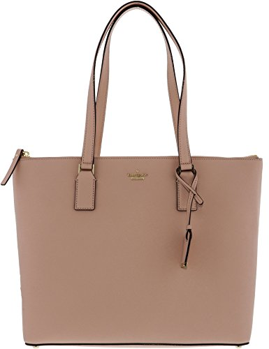 Kate Spade Women's Cameron Street Lucie Leather Shoulder Bag Tote - Warm Vellum by Kate Spade New York