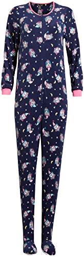 ladies pajamas with feet - 4