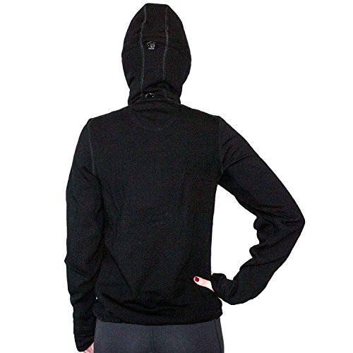 WoolX X750 Womens Cubby Jacket - Black - XSM by WoolX (Image #2)