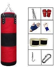 Fansport Bolsa De Boxeo Heavy Duty Oxford Canvas Boxing Bolsa Pesada para Uso En El Hogar