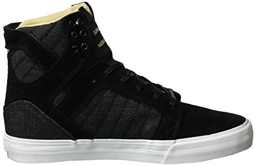 Supra Skytop Medium Sneaker Black Suede/Black Canvas 0IoNba3z7