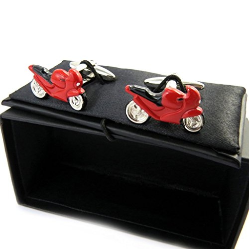 Tradition Rouge (Cufflinks 'Moto Rouge' .)