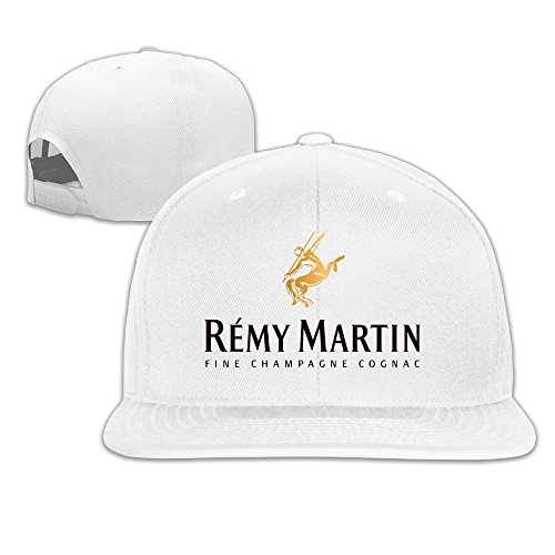 Remy Martin Logo Embroidery Cotton Boys Girls Snapback Hip Hop Hat Baseball Cap