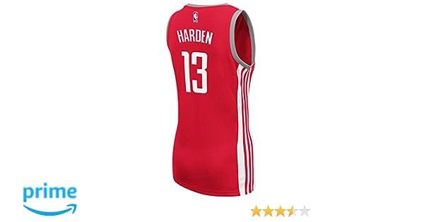 0db725fbefc4 Amazon.com   adidas James Harden Houston Rockets NBA Red Official Away Road  Replica Jersey Women   Sports   Outdoors