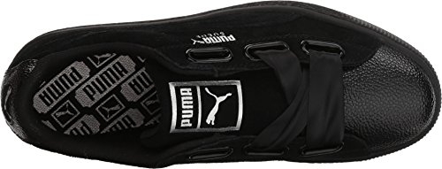 Suede Women's 10 Bubble Black US Black B PUMA Heart wSPdqw