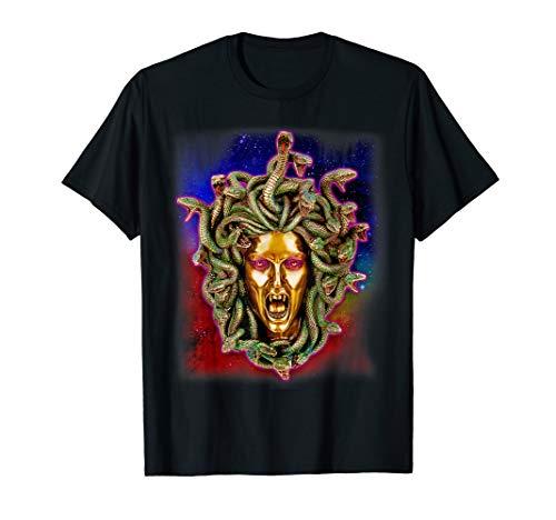 Medusa Head Greek Mythology Snakes t-shirt