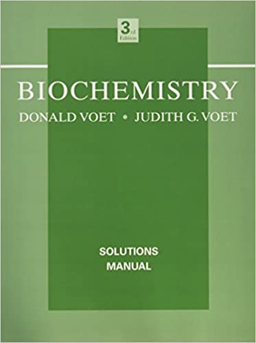 Biochemistry solutions manual donald voet judith g voet biochemistry solutions manual donald voet judith g voet 9780471468585 amazon books fandeluxe Choice Image