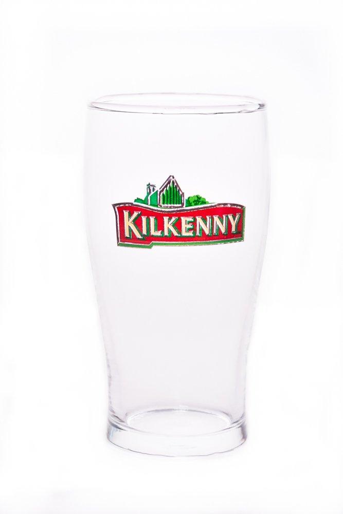 2X Biergl/äser 0,5l geeicht Kilkenny Bier Bierglas Glas Gl/äserSet