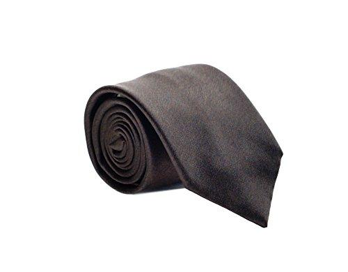 Brioni Men's Solid Woven Heathered Silk (Brioni Mens Silk Tie)