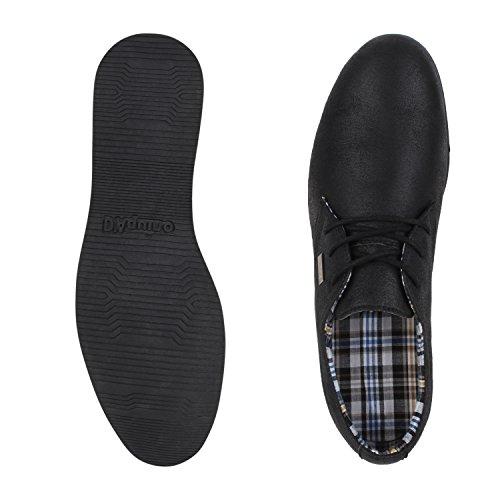 Herren Weiße Schuhe Business Velours Basic napoli fashion Schwarz Jennika Sohle Schnürer Halbschuhe FwqBB5xYp