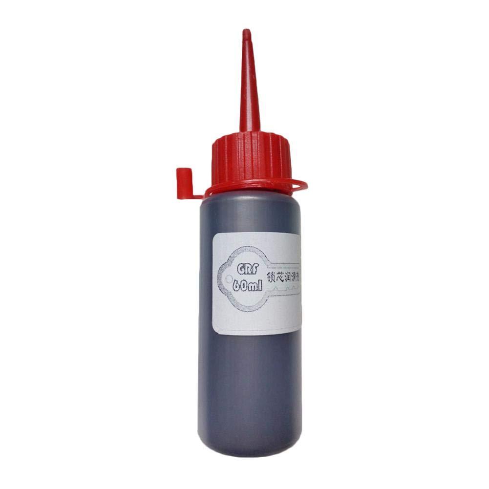 Haodene Graphite Powder Lubricant 60 ml for Outdoor Door Lock Core Nano Graphite Lubricant