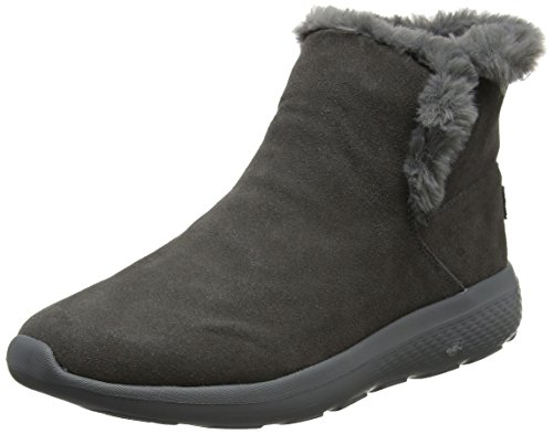 Skechers Women's on-The-Go City 2 Chukka Boots, Char Grey (Charcoal)