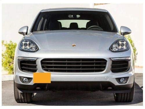 Amazon.com: Xotic Tech Gold Aluminum Bumper Tow License Plate Mount Bracket for Porsche Cayenne 2011-2017: Automotive