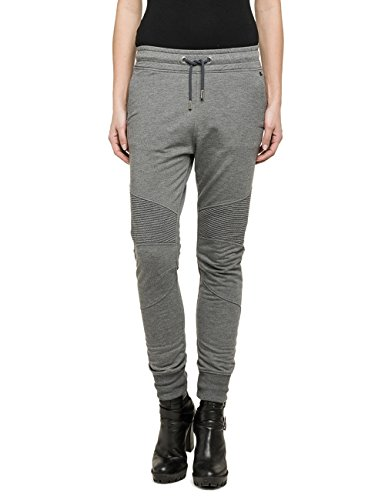 Replay Sweatpants-Pantalones Mujer Grey - Grau (MELANGE CHARCOAL 955)