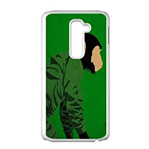 Dawn Of The Planet Of The Apes LG G2 Cell Phone Case White Z1808978