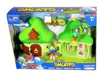 Mushroom Smurf (Smurfs - Painter Smurf Mushroom House)