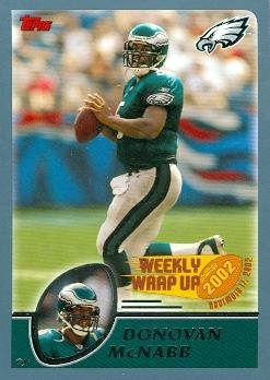 Donovan McNabb Football Card (Philadelphia Eagles) 2003 Topps #301