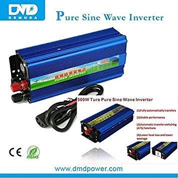demuda dc to ac Pure sine Wave Power Inverter 500w 24v 220v Factory Price