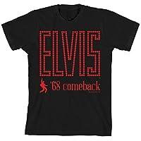 Camiseta Elvis 68 Comeback Dancing Black