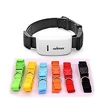 TKSTAR Pet Gps Tracker Tk909 Dog Cat collar Gsm Gprs Tracking Devices (Black)