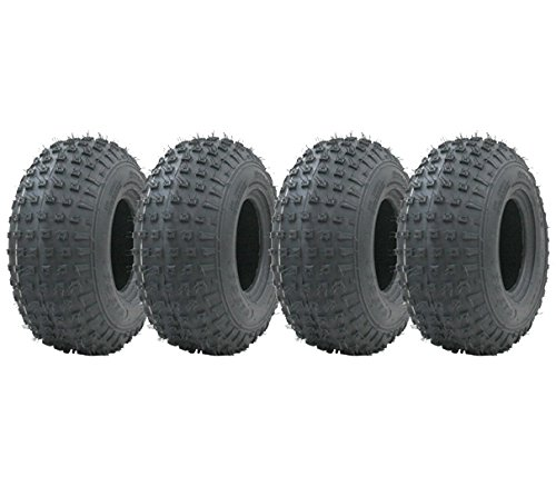 4-145/70-6 - knobby ATV tyre Quad trailer wheels 50cc 90cc 110cc Wanda 75 kgs