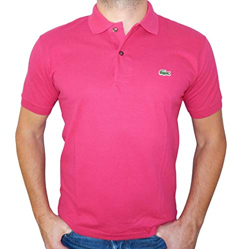 - Lacoste Men's Classic Short Sleeve L.12.12 Pique Polo Shirt,Cherry Pink,Small