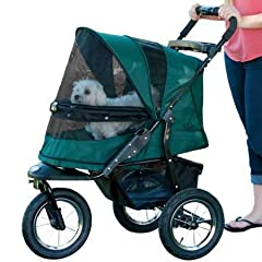 Whether you are an avid jogger or you simply want an extra smooth ride for your pet, the Pet Gear, Inc. Jogger NO-ZIP Pet stroller is the perfect fit. No zippers means no hassle when trying to open and close the stroller. Our new NO-ZIP techn...