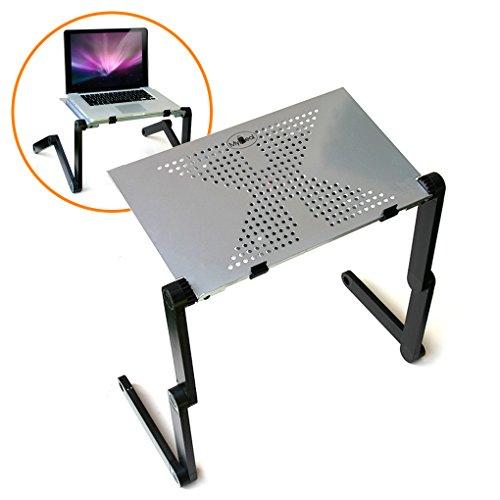 QuickCOOL Laptop Computer Standing Desk Converter w/ Vented