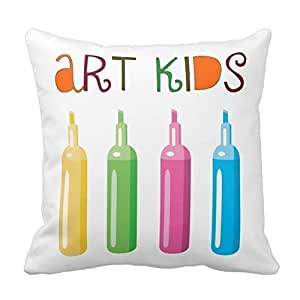 Pillowcases Color art children 18x18(inches)