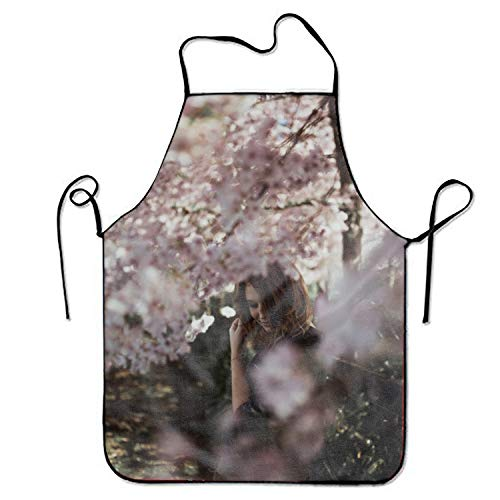 Bernard Cherry Wine - JONHBKD The Girl Under The Cherry Tree Tool Apron Cooking & Gardening Aprons