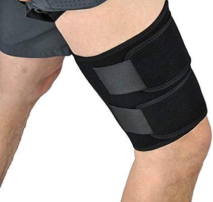 Manguito Calentadores de compresión piernas muslo médica apoyo ...